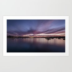 Sydney Sunset Art Print