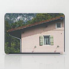 Pink Alpine House iPad Case