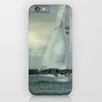 iPhone & iPod Case featuring Twilight Sail by Mary Kilbreath