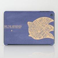 Sonic The Hedgehog Typog… iPad Case