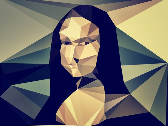 :: mona lisa :: Canvas Print