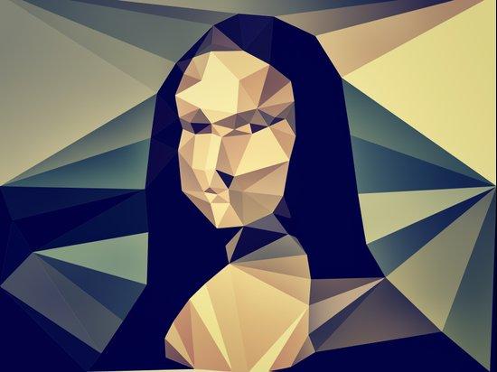 :: mona lisa :: Art Print
