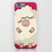 iPhone & iPod Case featuring Giant Sheep by Gal Ashkenazi