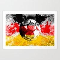 football germany Art Print