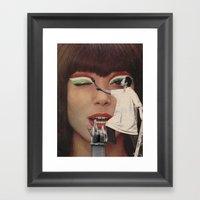 The (Make Up) Artist  Framed Art Print