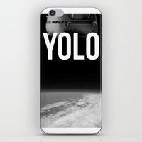 Felix Baumgartner YOLO iPhone & iPod Skin