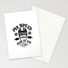 Mr. Speed Stationery Cards