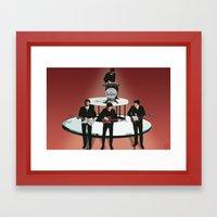 Rock Band Framed Art Print