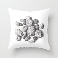 Fossils Throw Pillow