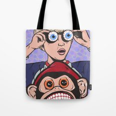 Rock and Roll Martian Tote Bag