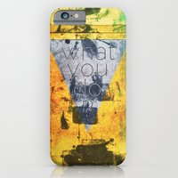 iPhone & iPod Case featuring what you do ? by clindust