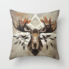 Né pour votre salon Throw Pillow