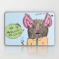 No Te Metas Con Mi Cu Cu Laptop & iPad Skin