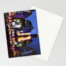'Times Square NYC ~ BRIGHT LIGHTS' Stationery Cards