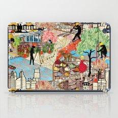 Urban Sightings Collage Detail 1 iPad Case