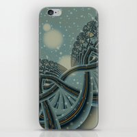Celtic Winter Forest iPhone & iPod Skin