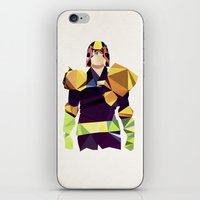 Polygon Heroes - Dredd iPhone & iPod Skin