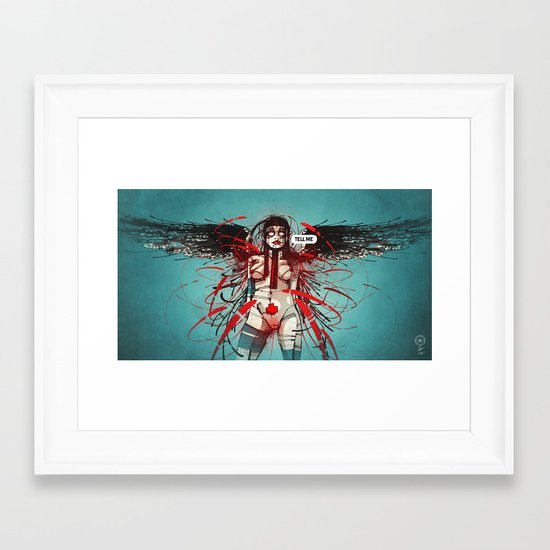 Nymph IV: Exclusive Framed Art Print