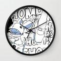 Haiku Pop Wall Clock