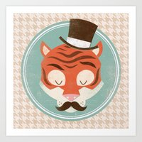 Uncommon Creatures - Tig… Art Print
