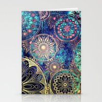 MAYAN TEXTURE 1 - for iphone Stationery Cards