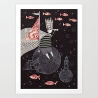 Five Hundred Million Lit… Art Print