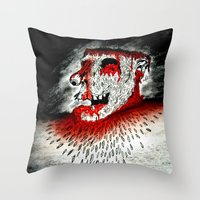 Zombie la mouche Fête Throw Pillow