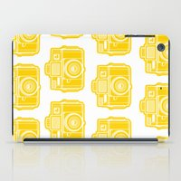 I Still Shoot Film Holga Logo - Sunshine Yellow iPad Case