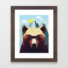 Bear Mountain  Framed Art Print