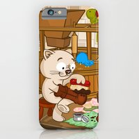 iPhone & iPod Case featuring Puss in boots by Alapapaju
