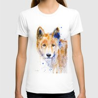 Dingo Womens Fitted Tee White SMALL