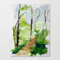 Cool Air Afton Canvas Print