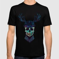 You Where So Wild  Mens Fitted Tee Black SMALL