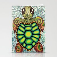 Baby Sea Turtle Stationery Cards
