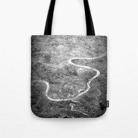 Rivers Of India Tote Bag