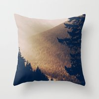 Sunrise In The Mountains… Throw Pillow