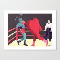 Punch Drunk Love Canvas Print