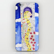 Rapunzel Let Down Your Golden Hair iPhone & iPod Skin
