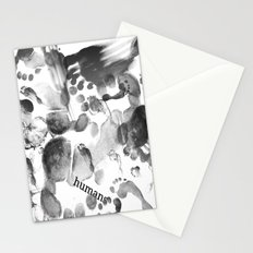 Humans  Stationery Cards