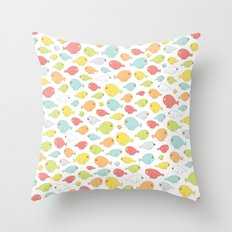 What the flock? Throw Pillow
