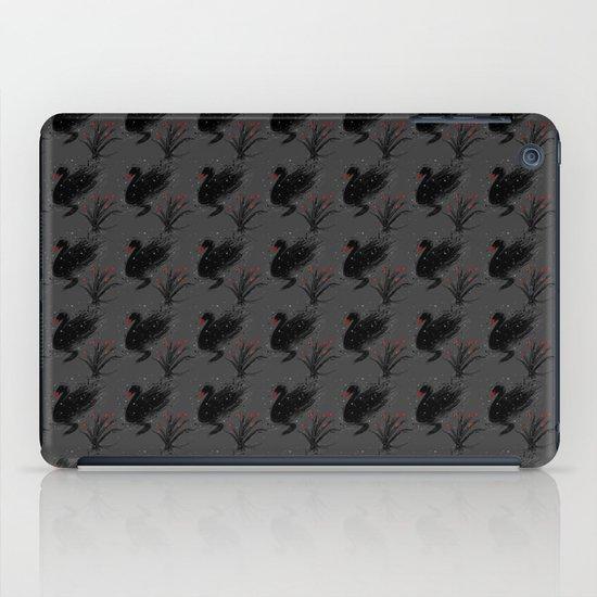 Winter Black Swan iPad Case