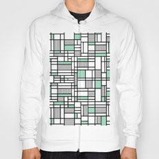 Map Lines Mint Hoody