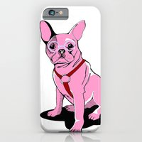 iPhone & iPod Case featuring Frenchie_Pink by andiroses
