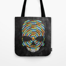 Hypnotic Skull Tote Bag