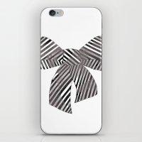 Watercolour Bow iPhone & iPod Skin