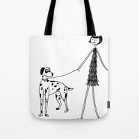 Eloise and Patch Tote Bag