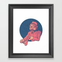 Opium Framed Art Print