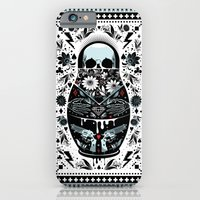 iPhone Cases featuring Russian Doll by koivo