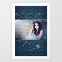 HS Senior - Holiday Art Print