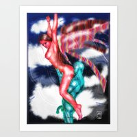 Angel Sex Magic Art Print